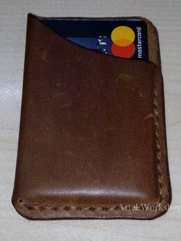 Визитницы и кредитницы - Кардхолдер из кожи Mini, 0