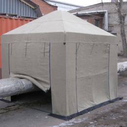 Тенты строительные - ПАЛАТКА СВАРЩИКА 2,5×2,5 м, 0