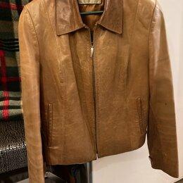 Куртки - Куртка кожаная 44-46, 0