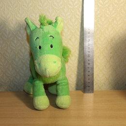 """Мягкие игрушки - Мягкая игрушка """"Зеленая лошадка"""", 0"""