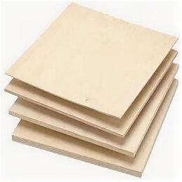 Гипсокартон и комплектующие - Фанера (1,525х1,525) х 21мм 4/4, 0