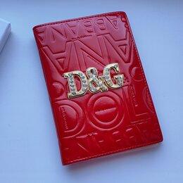 Обложки для документов - Обложка на паспорт из натур. кожи Dolce&Gabbana, 0