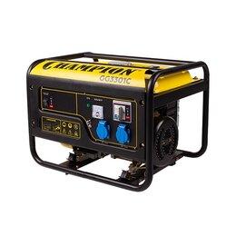 Электрогенераторы и станции - Генератор бензиновый Champion GG 3301 C, 0