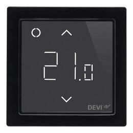 Электрический теплый пол и терморегуляторы - Терморегулятор DEVI DEVIreg Smart 140F1143 Black, 0