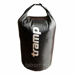 Спортивная защита - Tramp гермомешок нейлон 50 л (черный), 0