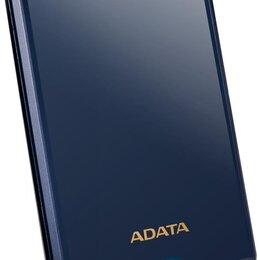 """Внешние жесткие диски и SSD - Внешний HDD A-DATA 2TB HV620S 25"""" USB 3.1 Slim Темно-синий (AHV620S-2TU31-CBL), 0"""