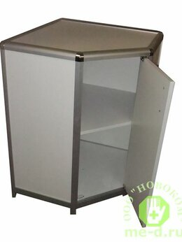 Тумбы - Стол-тумба угловой, дверка СТЛ 1-05 (пластик), 0