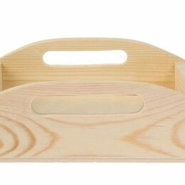 Подносы - Деревянный поднос для выпечки 32*30 см, 0