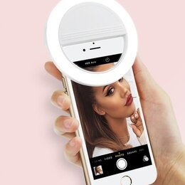 Осветительное оборудование - Селфи Вспышка для телефона на батарейках, 0