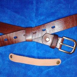Ремни и пояса - Ремень кожаный мужской ручной работы, 0