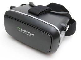 Наушники и Bluetooth-гарнитуры - Очки виртуальной реальности черные VR Shinecon, 0