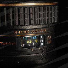 Объективы - Tokina 35 mm F/2.8 Nikon // 8103 📷, 0