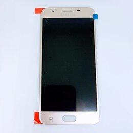 Дисплеи и тачскрины - Дисплей Samsung G570 Galaxy J5 Prime модуль золотистый Gold GH96-10324A Оригинал, 0