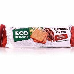 Торговля - Галеты Eco botanica с гречневой мукой 160 г, 0
