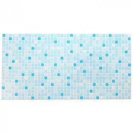 Мозаика - Панель ПВХ Мозаика голубая 955х480, 0