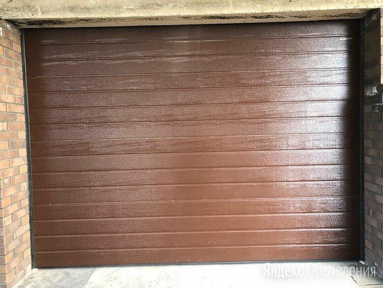 Гаражные секционные ворота по цене 47778₽ - Заборы, ворота и элементы, фото 0