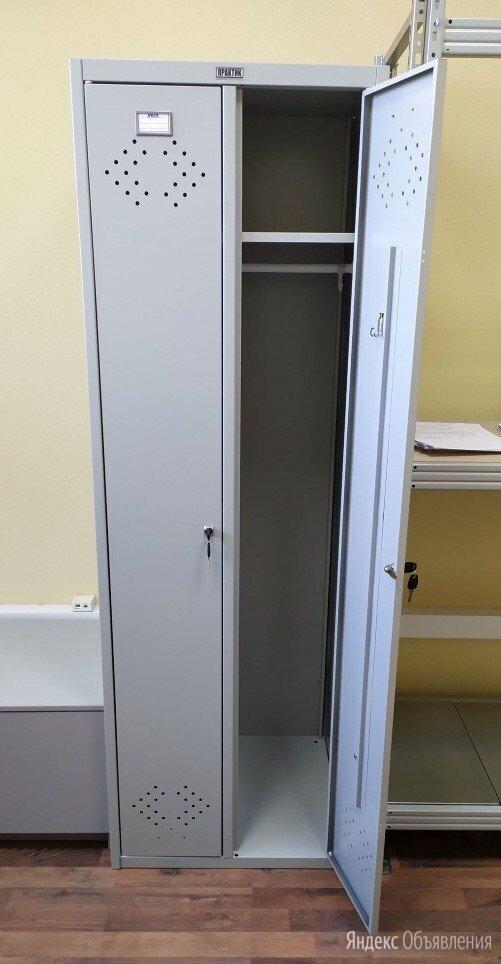 Металлический шкаф для одежды практик LS-21-60 по цене 8500₽ - Мебель для учреждений, фото 0