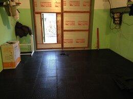 Плитка ПВХ - Резиновая плитка для пола гаража , 0