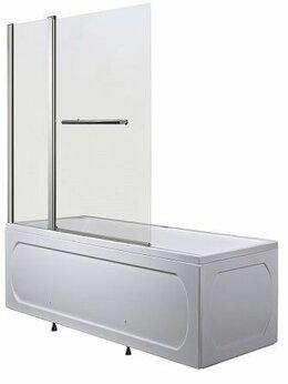 Шторы и карнизы - Шторка для ванны 1Marka HX-112C-1 126х140, 0