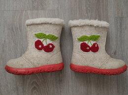 Обувь для малышей - Валеночки для девочки или мальчика, 24 размер, 0