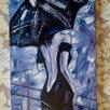 Картина маслом Незнакомка (девушка под зонтом) живопись мастихин по цене 8500₽ - Картины, постеры, гобелены, панно, фото 5