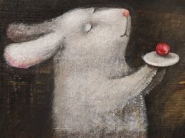 """Картины, постеры, гобелены, панно - Феина картина""""Вишенка на тортик"""", 0"""