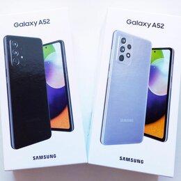 Мобильные телефоны - Samsung Galaxy A52, Новый Гарантия, 0