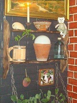 Стеллажи и этажерки - Настенный мини стеллаж., 0