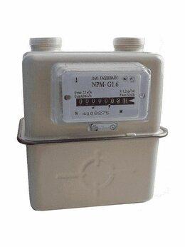 Счётчики газа - Счетчик газа NPM G1,6 Правый Газдевайс 2021 г, 0