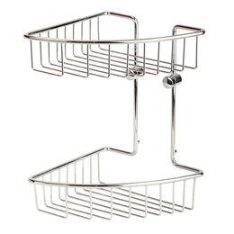 Полки, шкафчики, этажерки - Полка 20 см Basket Veragio VR.GFT-9034.CR, 0