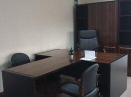 Мебель для учреждений - Стол руководителя с приставкой и тумбой, 0