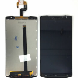 Дисплеи и тачскрины - Дисплей для OUKITEL K10000 чёрный, 0
