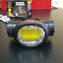 Фонари - Налобный фонарь COB аккумуляторный YYC304 , 0