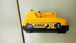 Аккумуляторы и зарядные устройства - Аккумуляторные батареи 12v , 2 AH, dewalt, 0