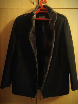 Пальто - Мужское зимнее пальто, 0