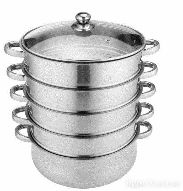 Новая посуда кастрюля мантоварка мантышница пароварка нержавейка по цене 1900₽ - Кастрюли и ковши, фото 0