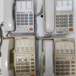 Проводные телефоны - Стационарный телефон Panasonic, 0