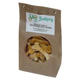 Лакомства  - Dog Bakery - Печенье для собак с рисом и органической тыквой, 0