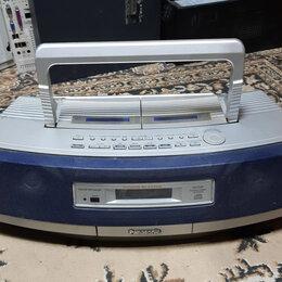 """Музыкальные центры,  магнитофоны, магнитолы - Магнитола Panasonic RX-ED50 Stereo CD 2х касс.""""Кобра"""", 0"""