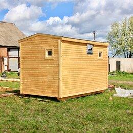 Готовые строения - Баня готовая с печкой и баком для воды, 0