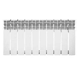 Радиаторы - Радиатор алюминиевый Oasis 350/80 8 секций, 0