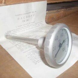 Радиодетали и электронные компоненты - Термометры корабельные биметаллические ТК100-100, 0