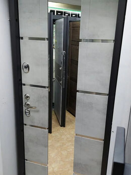 Входные двери - Дверь входная Фалько ,,Европа бетон,, сталь 2мм, 0