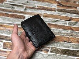 Кошельки - Кожаный кошелек Мужской (новый), 0