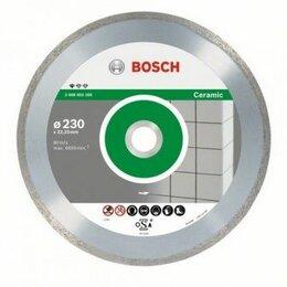Диски отрезные - Алмазный диск Bosch Алмазный отрезной круг по керамике 1.6х125мм Standard for..., 0