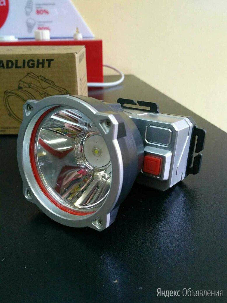 Налобный фонарь аккумуляторный YT-T800 по цене 320₽ - Фонари, фото 0