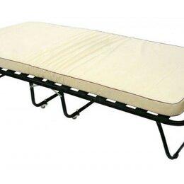 Кровати - Раскладушка Эльвира с матрасом , 0