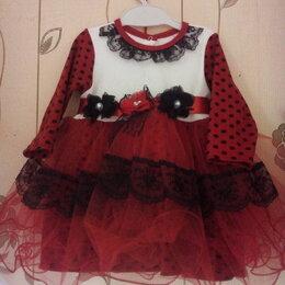 Платья и сарафаны - Продаю платье на 6-12 месяцев,одевали пару раз,500рублей, 0