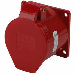 Электроустановочные изделия - Розетка стационарная внутренняя 425 3Р+РЕ+N 32А…, 0