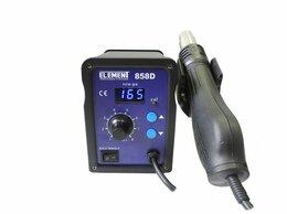 Строительные фены - Паяльный фен ELEMENT 858D. Цифровая индикация., 0